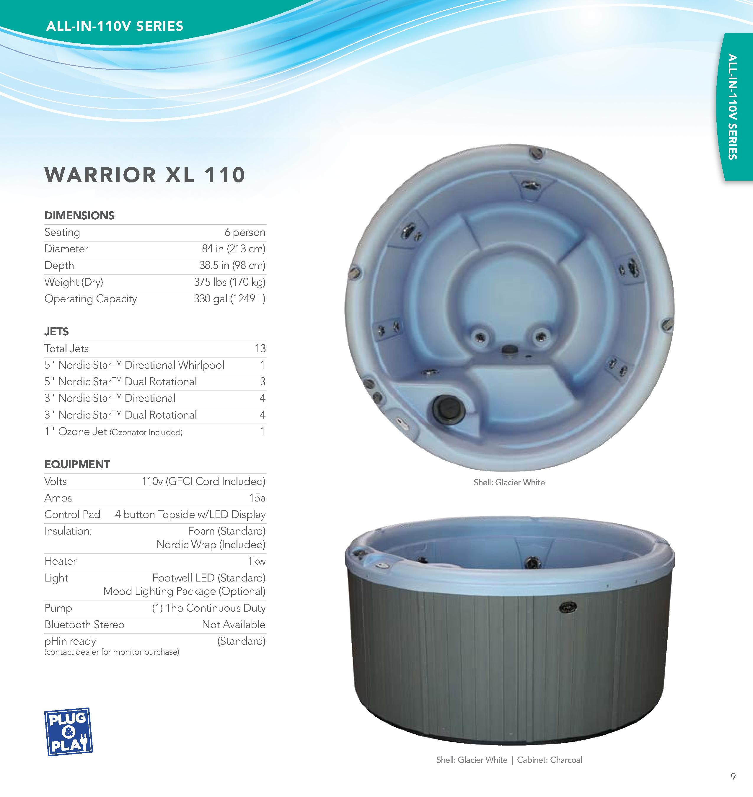 Warrior XL 10
